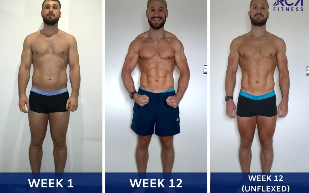 Regular gym goer finally achieves his dream physique!